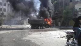Syrie : bombardements intensifs de l'armée sur Damas et Alep