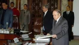 Les ministres de Bouteflika : des milliards pour colmater les brèches...