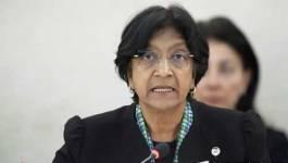 Navi Pillay souhaite une mission de l'ONU sur les disparus