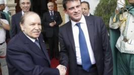 Visite de François Hollande : Manuel Valls mène la pression sur Alger