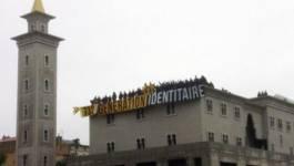 France : la mosquée de Poitiers occupée par des militants d'extrême droite