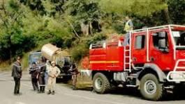 25 hectares ravagés par les flammes à Oran