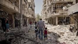 Syrie : raid de chasseurs bombardiers sur les villes