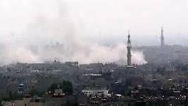 Syrie : l'aviation d'Al Assad largue un tapis de bombes sur Damas