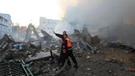Le QG du Hamas à Gaza bombardé par l'armée israélienne