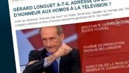 Rassemblement du Mcaf devant le sénat français pour dénoncer Gérard Longuet