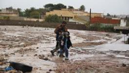 Oran : deux affaissements de chaussée pour cause des intempéries
