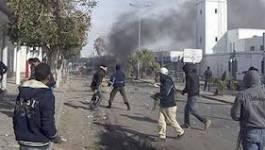 Tunisie : un poste de police incendié par des manifestants près de Siliana