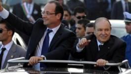 """François Hollande à Alger parle """"d'un nouvel âge"""""""