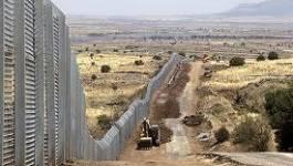Israël : une clôture électrique en construction à la frontière syrienne