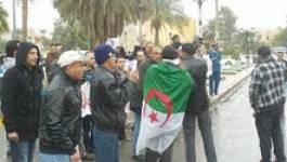 Lourdes peines contre les chômeurs de Ouargla