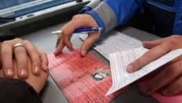 Le permis à points sera en vigueur à partir de février en Algérie
