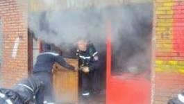 Tiaret : un incendie vite circonscrit par la Protection civile