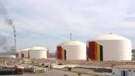 Oran : protestation dans la zone industriel d'Arzew