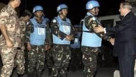 Les Casques bleus capturés en Syrie sont arrivés libres en Jordanie