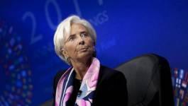 Christine Lagarde, la directrice du FMI, en visite à Alger