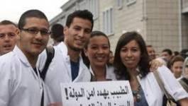 Remontés, les médecins résidents d'Oran organisent un sit-in