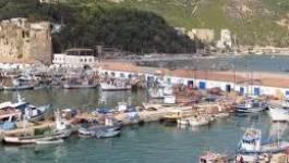 Bejaïa : la digue de protection du port de Tala-Ilef fracturée par la houle
