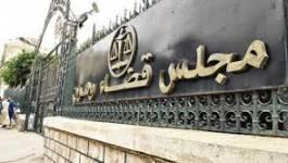 Incendie au service des archives de la cour d'Oran