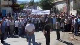 Kabylie : marche de ras-le-bol du terrorisme à Azeffoune