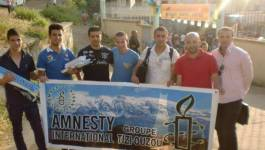 Amnesty International présente à la commémoration du 15e anniversaire de l'assassinat de Matoub