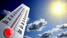 Des températures élevées sur les régions de l'intérieur et du sud
