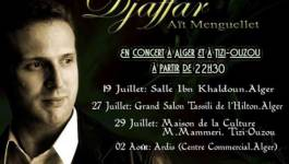 Djaffar Aït Menguellet en concert à Alger et Tizi Ouzou