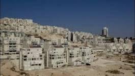 Israël prévoit une avalance de constructions à Jérusalem-Est et en Cisjordanie