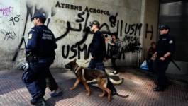 Des fans algériens signent leur présence en Grèce