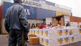 La douane intercepte des marchandises objet de transfert vers l'étranger