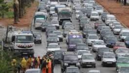 Chlef : embouteillage monstre sur la RN 4 à la sortie ouest