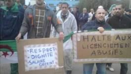 Tizi-Ouzou : les 5 travailleurs de Taboukert suspendent leur grève de la faim