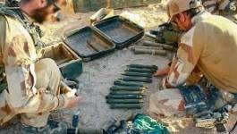 Une cache d'armes découverte en Algérie, près de la Libye