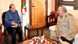 Le président Bouteflika reçoit le vice-ministre de la Défense nationale