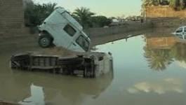 La ville de Laghouat sous des pluies diliviennes