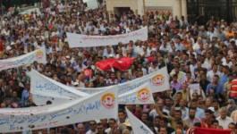 Tunisie : des centaines de manifestants dans les rues de Tunis