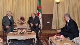 Le Président Bouteflika reçoit Ghannouchi, le chef d'Ennahda tunisien