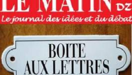 """Le pouvoir interdit """"les Débats d'El Watan"""""""