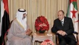 Le président Bouteflika reçoit le ministre émirati de la Culture