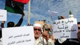 Libye : les Tripolitains exigent le départ des milices
