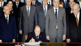 """Le """"calvaire"""" de Bouteflika au Conseil des ministres"""