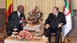 Le président Bouteflika reçoit Boubacar Keita