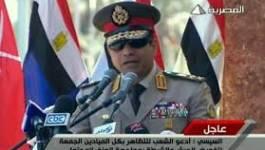 """Le général Al-Sissi appelle les Egyptiens à voter """"oui"""" à la constitution"""