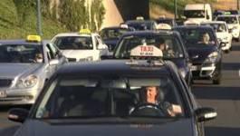 France : nouvelle grève de chauffeurs de taxi en colère