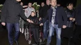 "Ukraine : Ioulia Timochenko salue à Kiev les ""héros de Maïdan"
