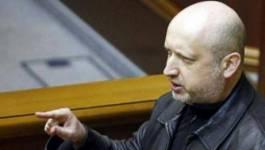Ukraine : Tourtchinov, le chef du Parlement, nommé président par intérim