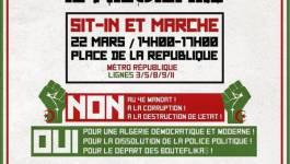 Appel à une marche le 22 mars à 14h à Paris