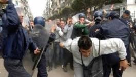 La police réprime violemment des grévistes à M'sila