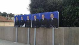 Le site de campagne du candidat président Bouteflika piraté