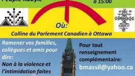 Rassemblement dimanche à Ottawa pour dénoncer la répression en Kabylie